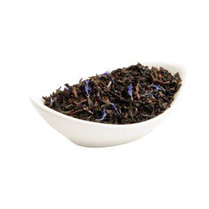 Черный листовой чай с добавками