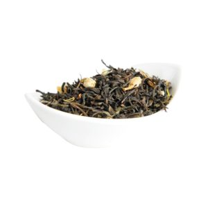 Зеленый листовой чай с добавками